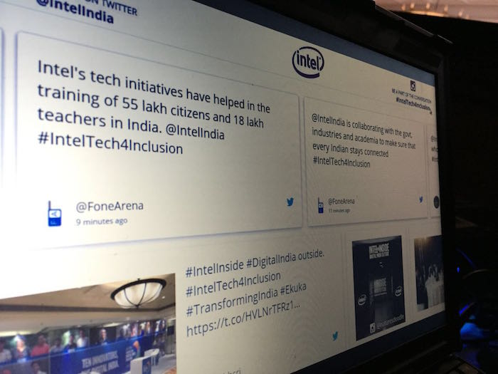 intel social wall blog