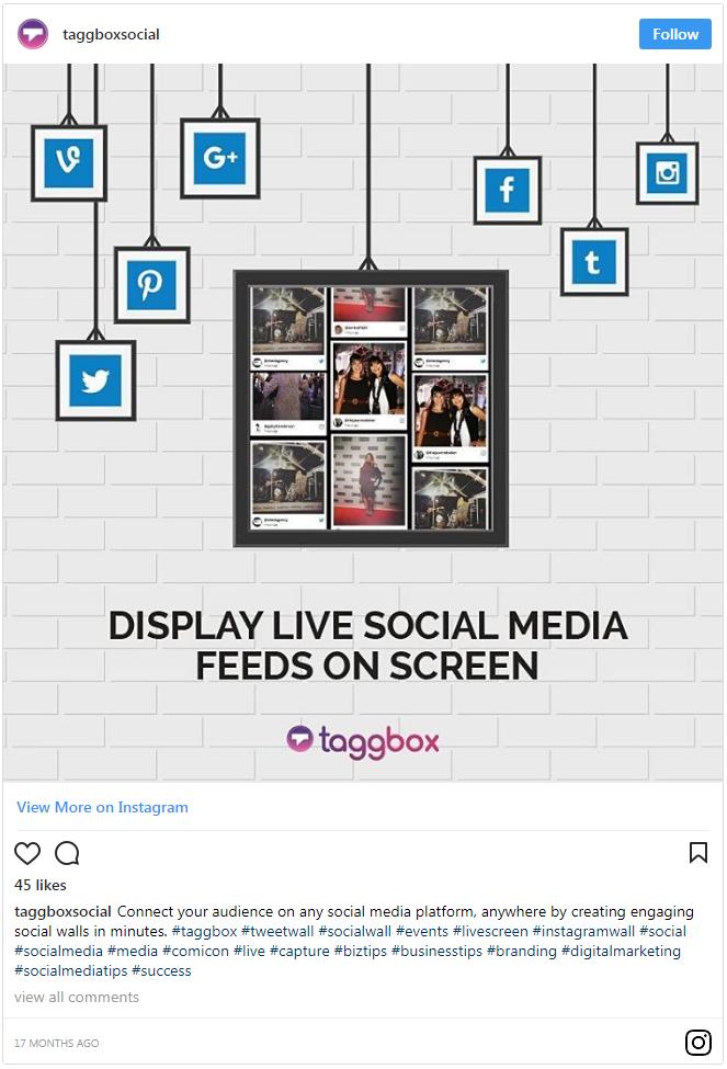 Social Media Walls