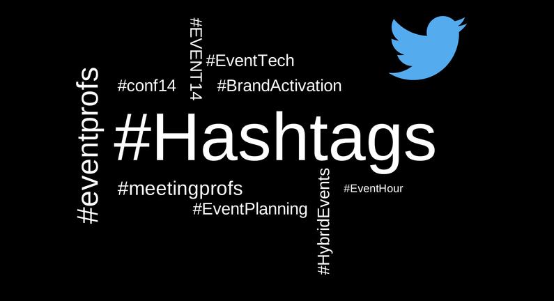 Event hashtage