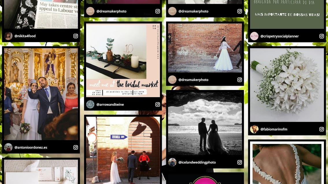 DRIVE USER-GENERATED CONTENT FROM INSTAGRAM TO THE WEBSITE