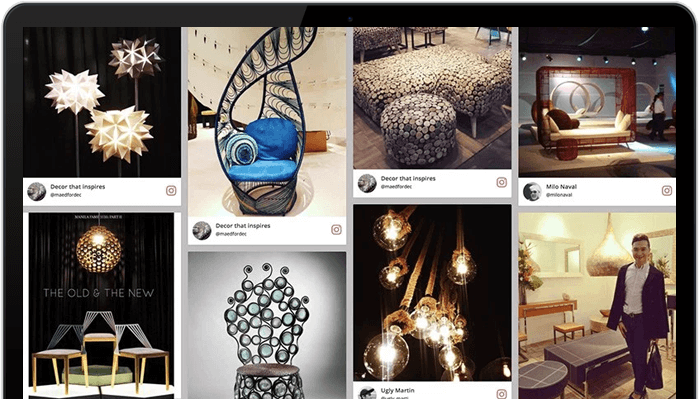 INSTAGRAM FEEDS ADD VIBRANCY TO THE WEBSITE UI
