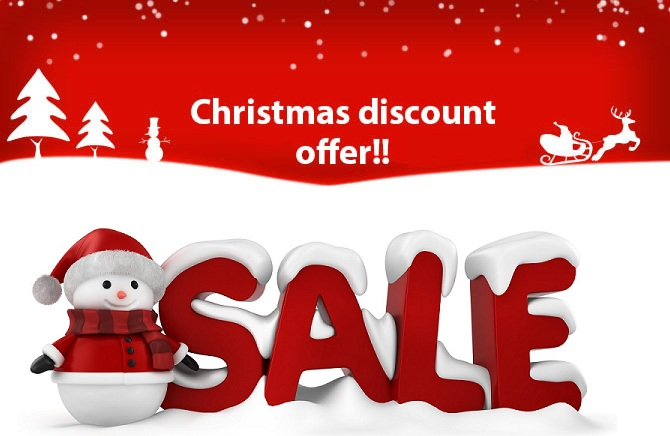 Design a Merry Christmas offer