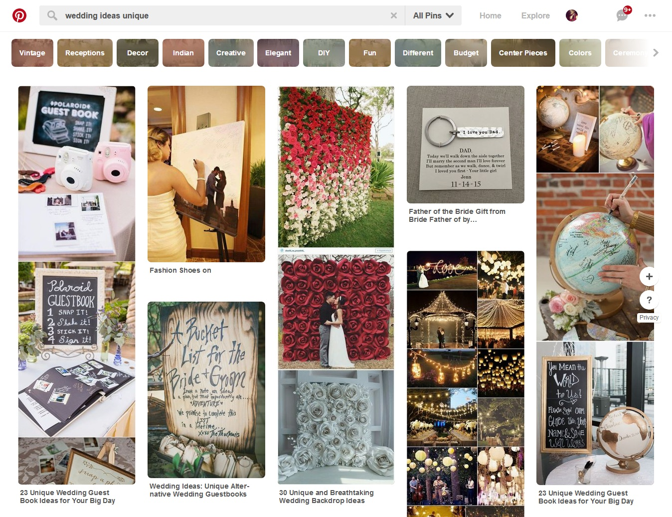 Wedding ideas on pinterest