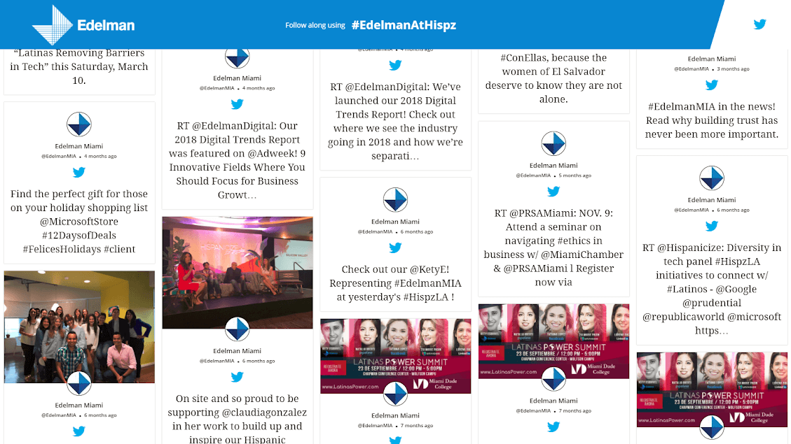 Taggbox Embed Live Twitter Feed on Website