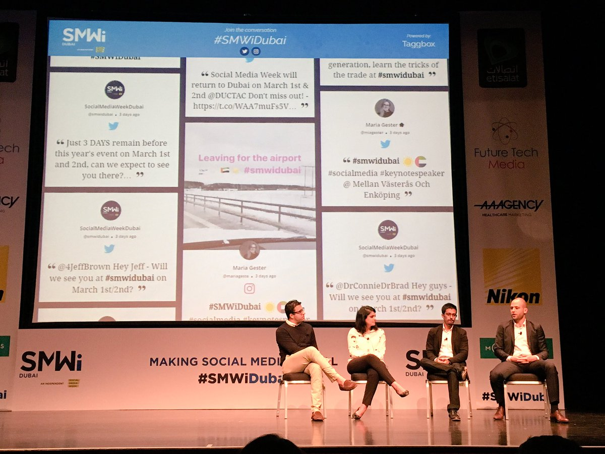social media week dubai uae
