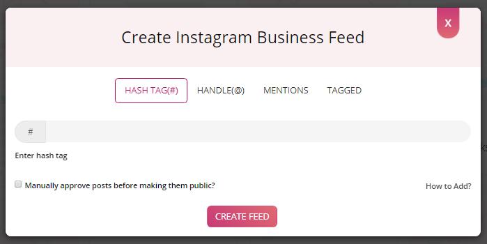 Aggregate Instagram Feeds