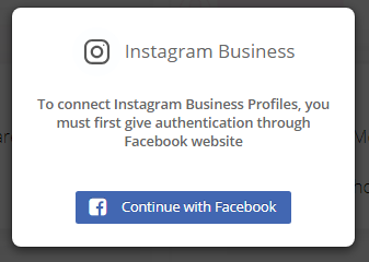 Select Instagram Account