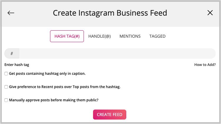 embed Instagram feed on website
