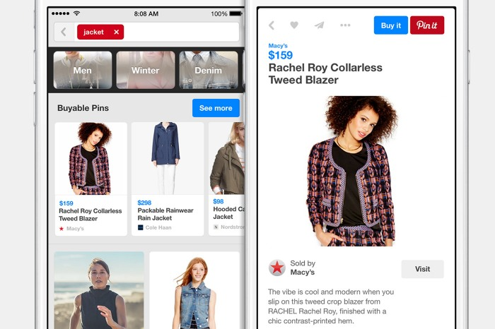 Pinterest social commerce platform