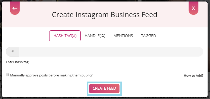 embed Instagram feed widget on website