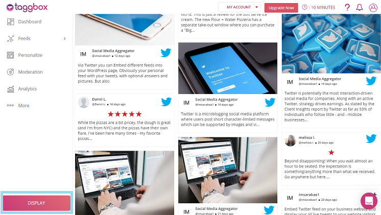 Embed Twitter Widget On Your Website - Taggbox Blog