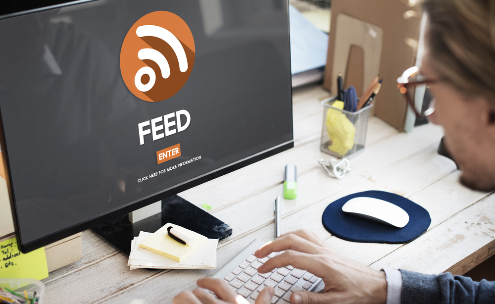 Embed RSS feed on website