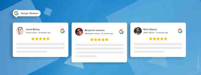 embed google review widget