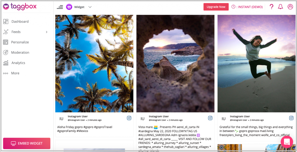 how toadd instagram feed on shopify