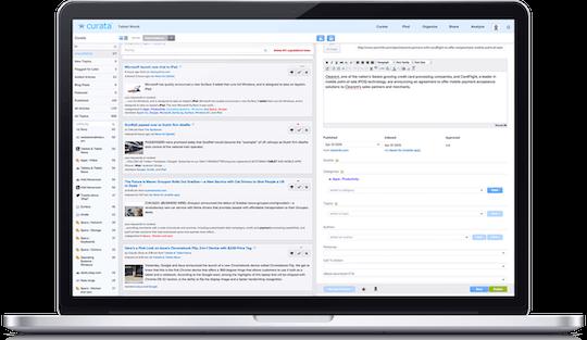 content curaiton tools