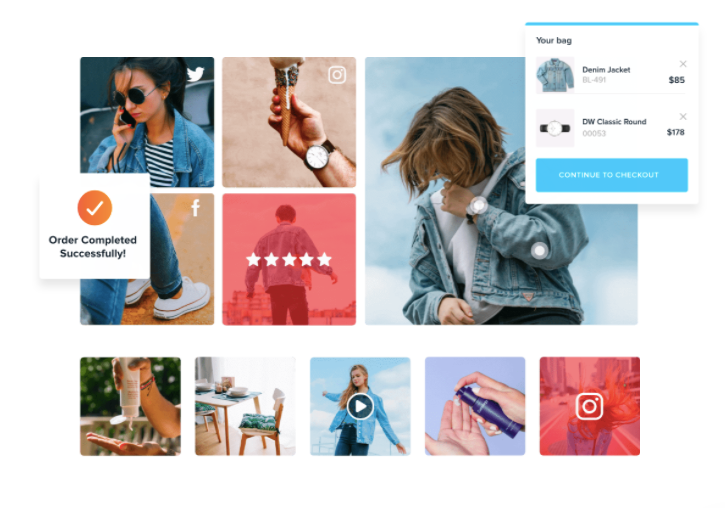 Shoppable Instagram Images