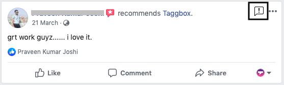 delete facebook review