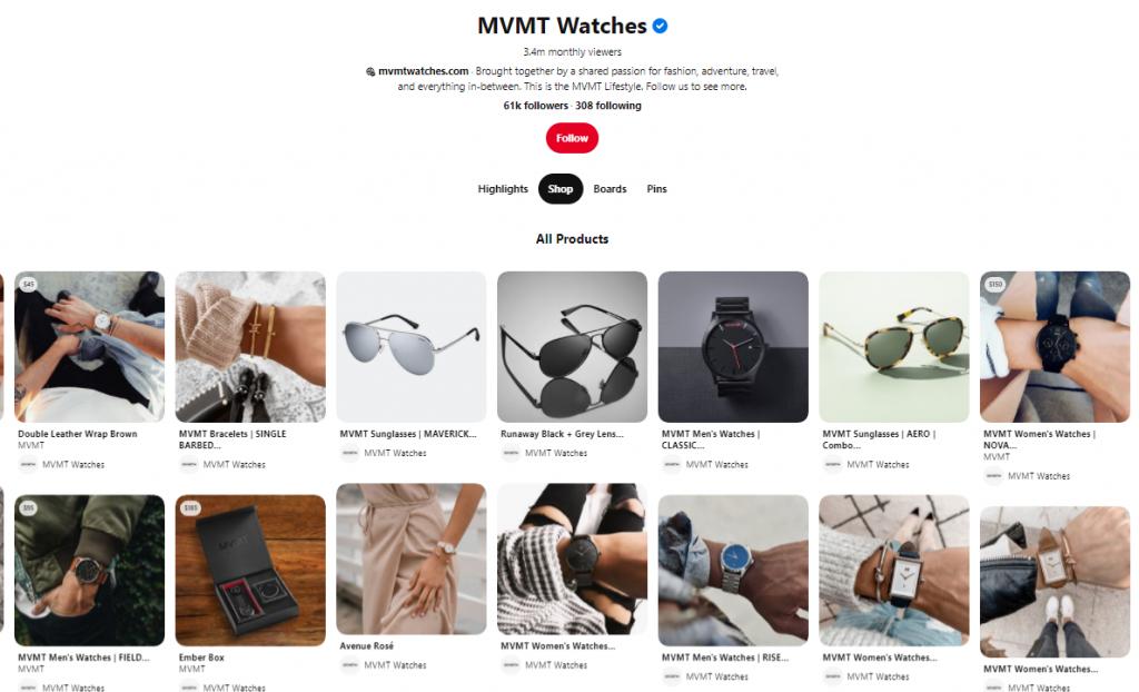 MVMT social commerce