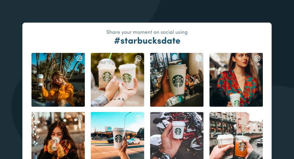 Starbucks Social Media campaign
