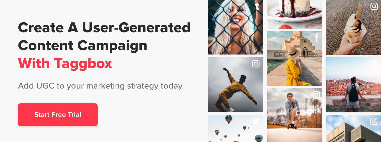 Create UGC campaign