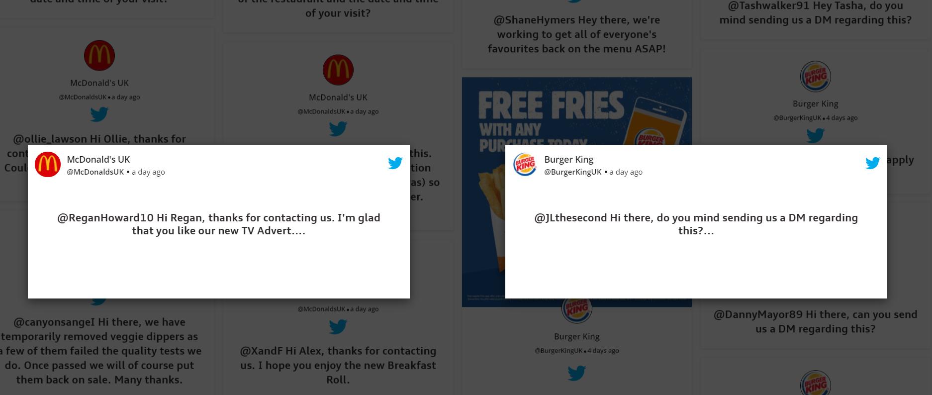 McDonald's vs burger king