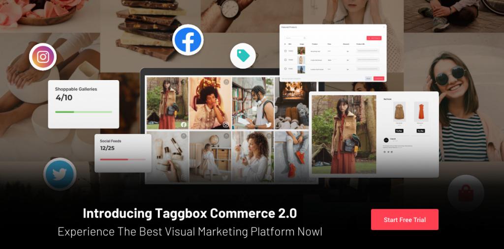Taggbox Commerce Visual Marketing Platform