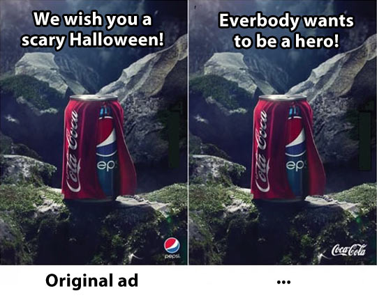 pepsi helloween campaign
