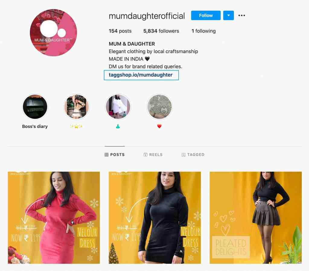 MumDaughter Instagram