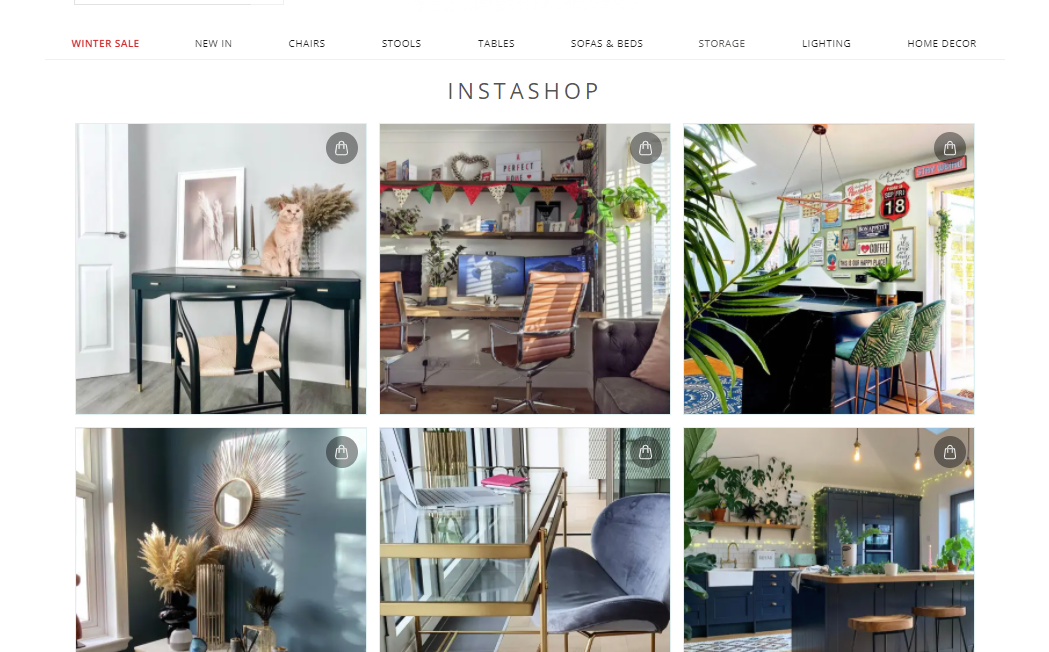 Shoppable Gallery