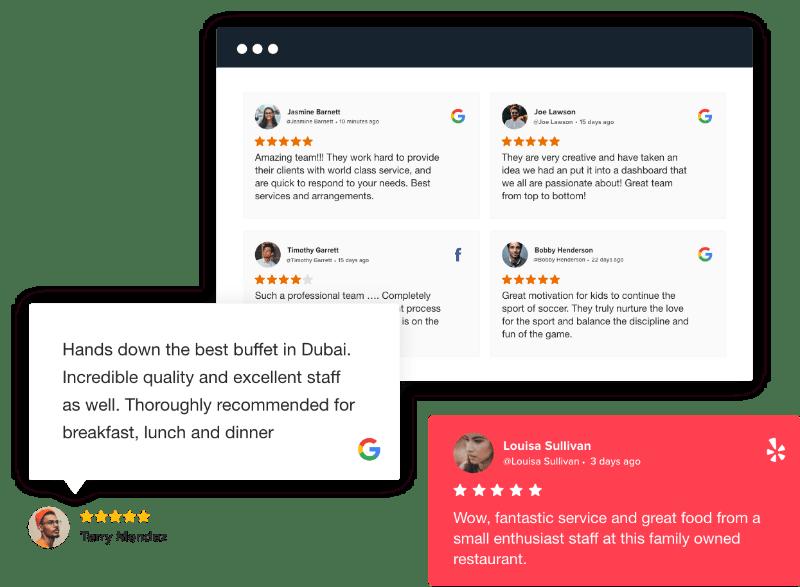 Reviews & Ratings Widget