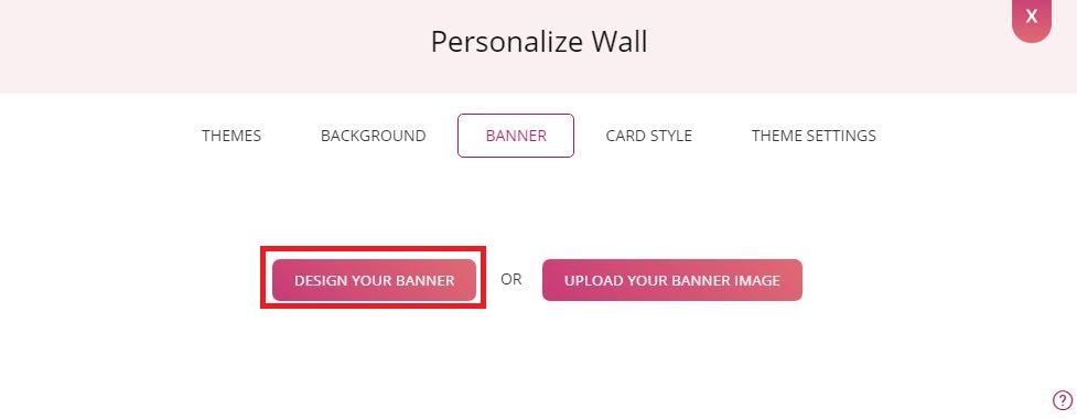 Design Your Banner