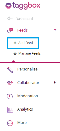 Linkedin Add feed