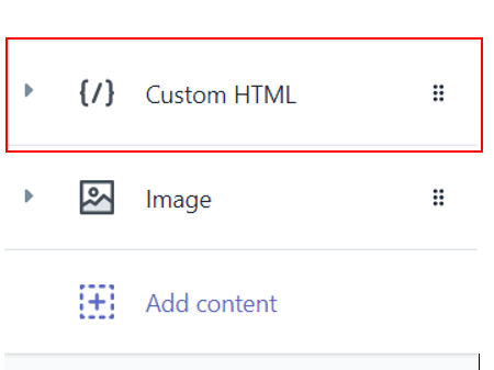 add Flickr album on Shopify pages