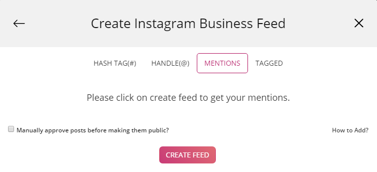 add instagram feed on blogger