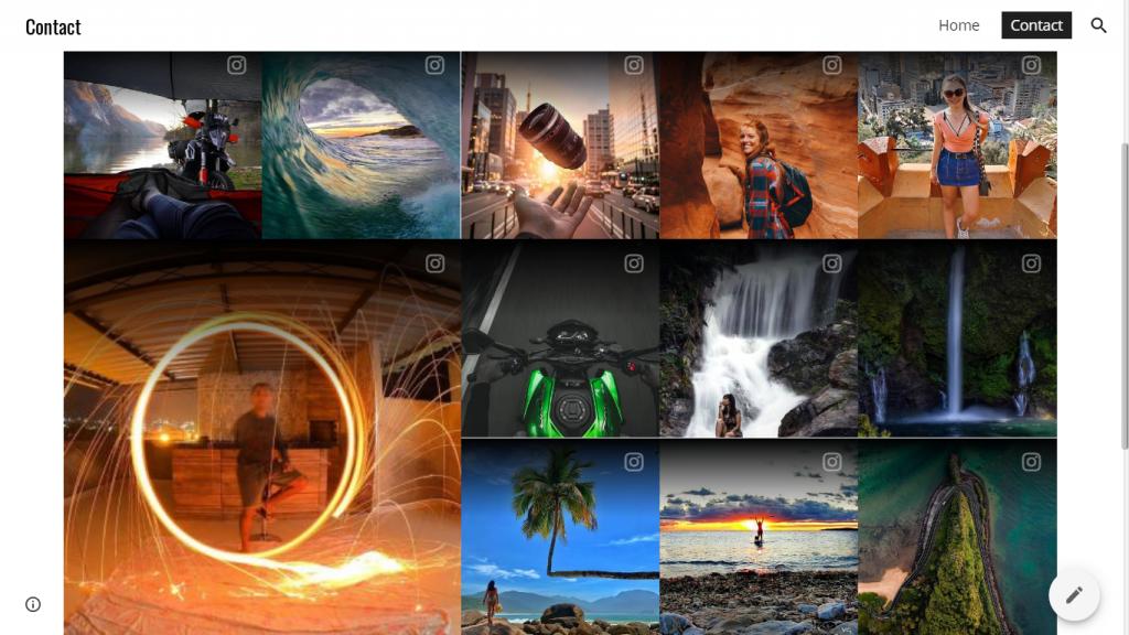Embed Instagram Widget onGoogle site