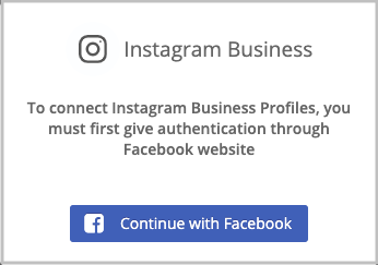 Instagram login credentials