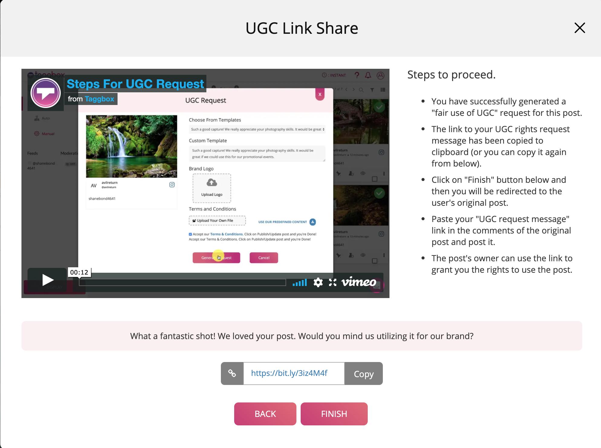 UGC Link