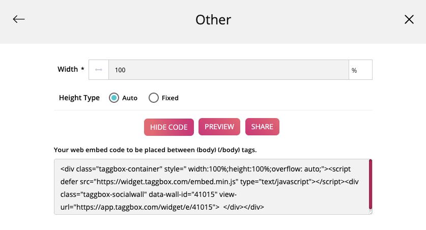 integrate twitter widget on webflow