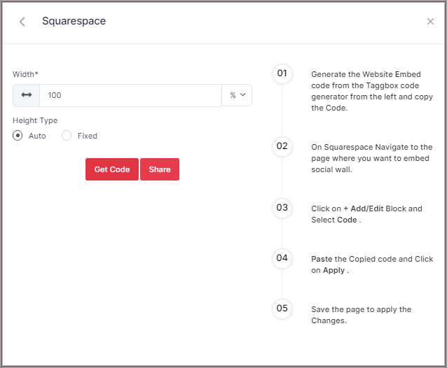 Embed Slack Feed on Squarespace website