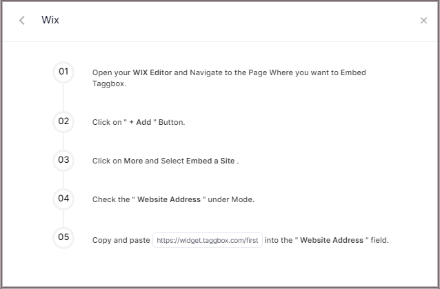 Add Facebook Feed On Wix
