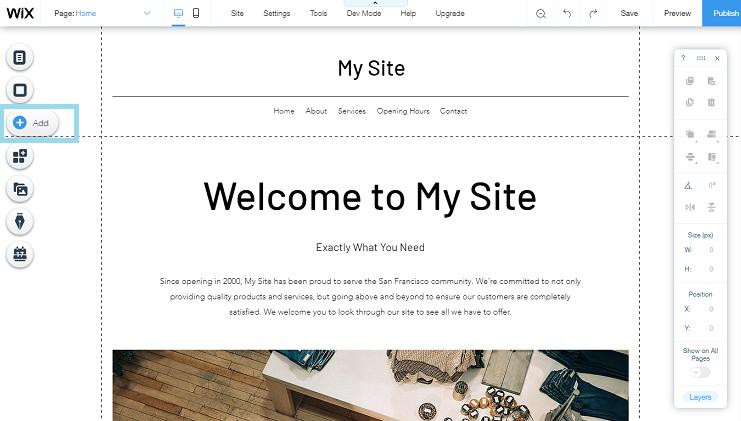 Embedding feed on Wix  Website