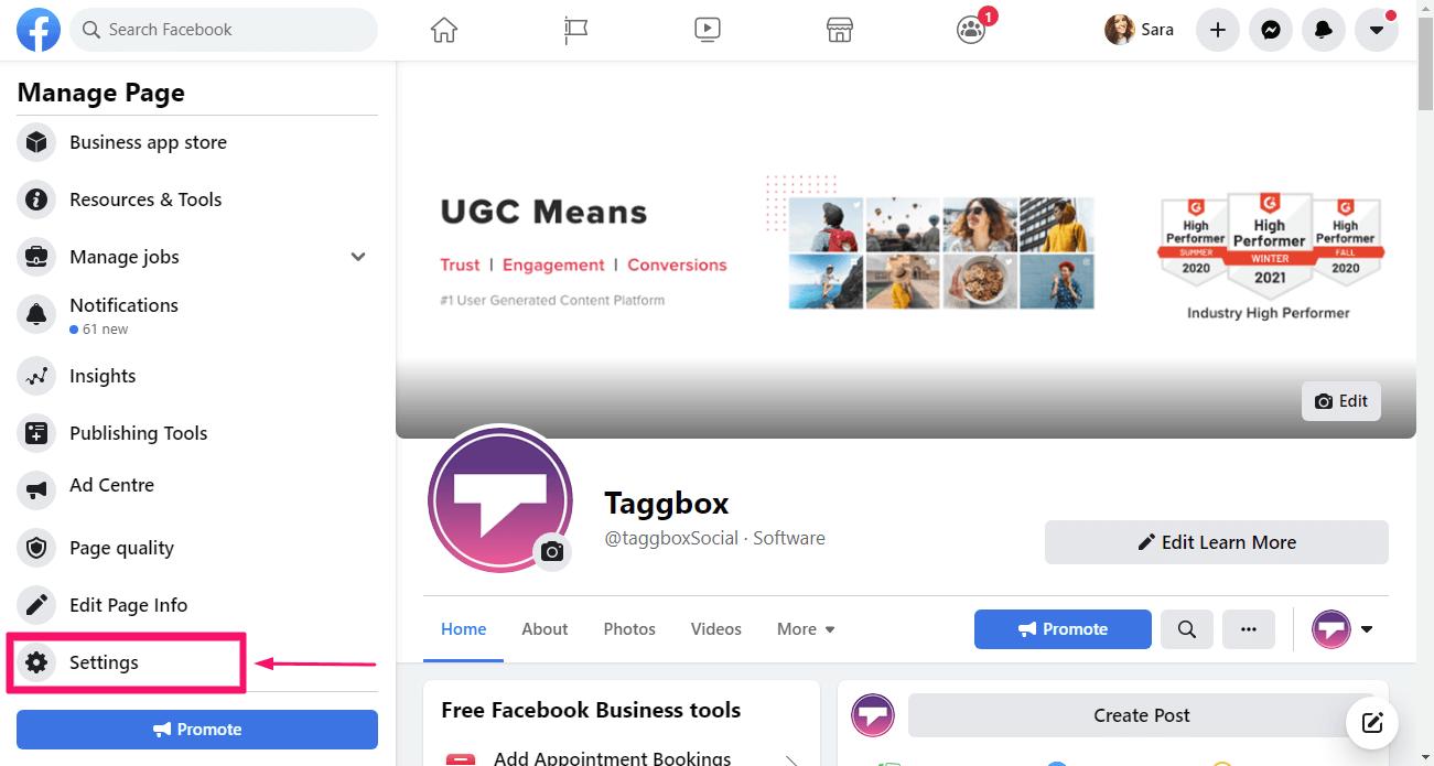Link Instagram with Facebook
