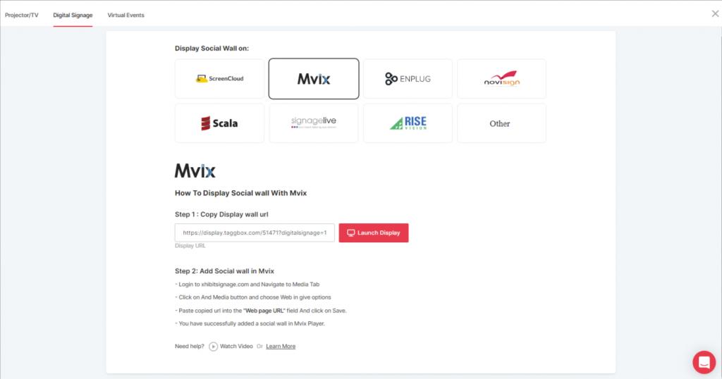 Choose Mvix