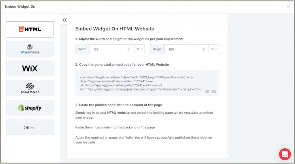 Embed Medium Blog